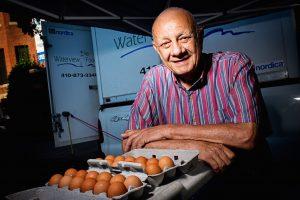 "Remembering Tom ""The Egg Man"" Hubric of Dupont's FreshFarm Market"