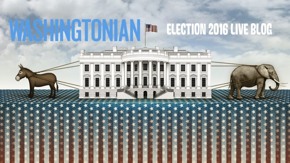 Election Night in DC 2016: Be Good to One Another Tonight