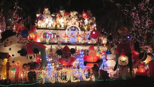 Think Your Tacky Christmas Lights Display Is Special? Holly Zell Will Be the Judge of That