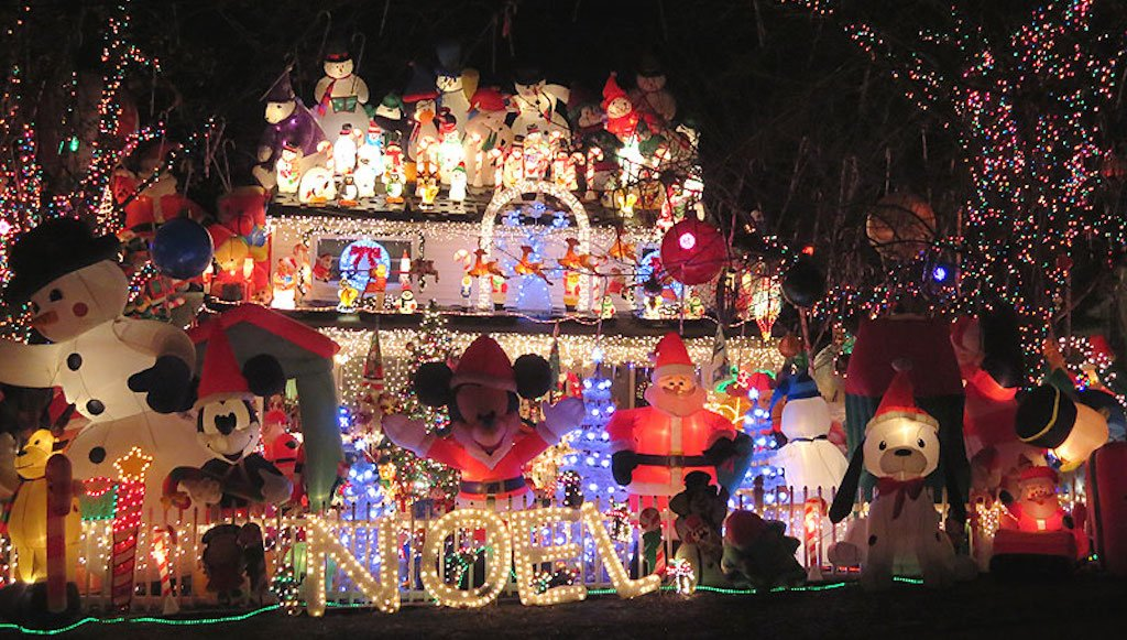 think your tacky christmas lights display is special holly zell will be the judge of that