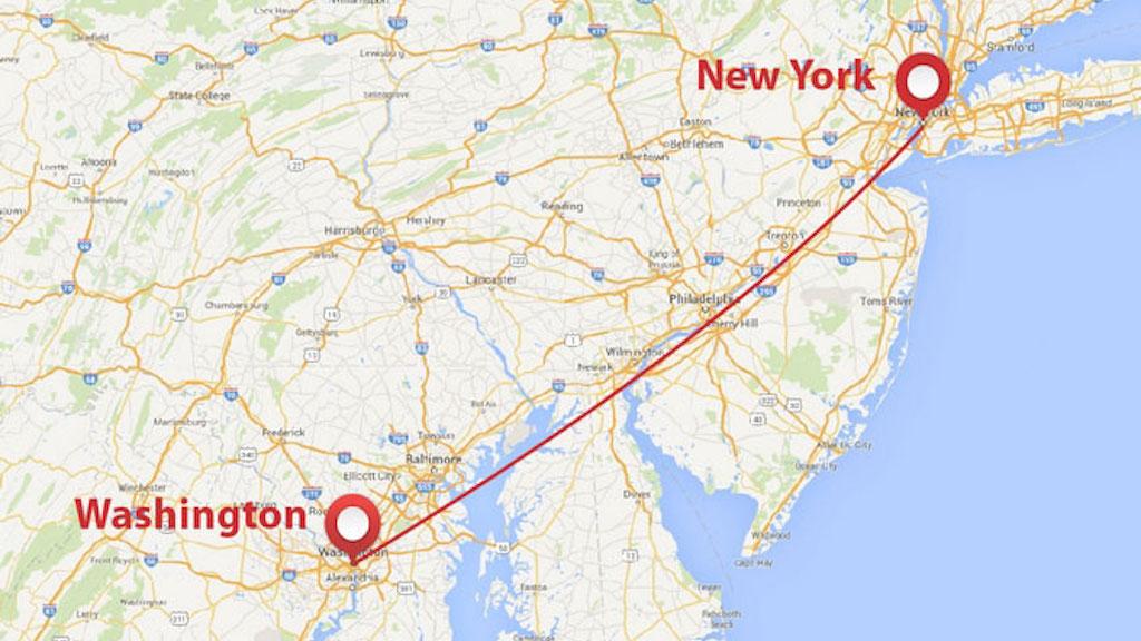 A Very Short History of the Washington-New York Shuttle