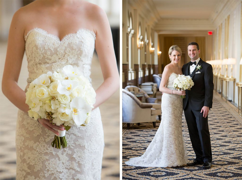 see the very first wedding at dc s trump international hotel