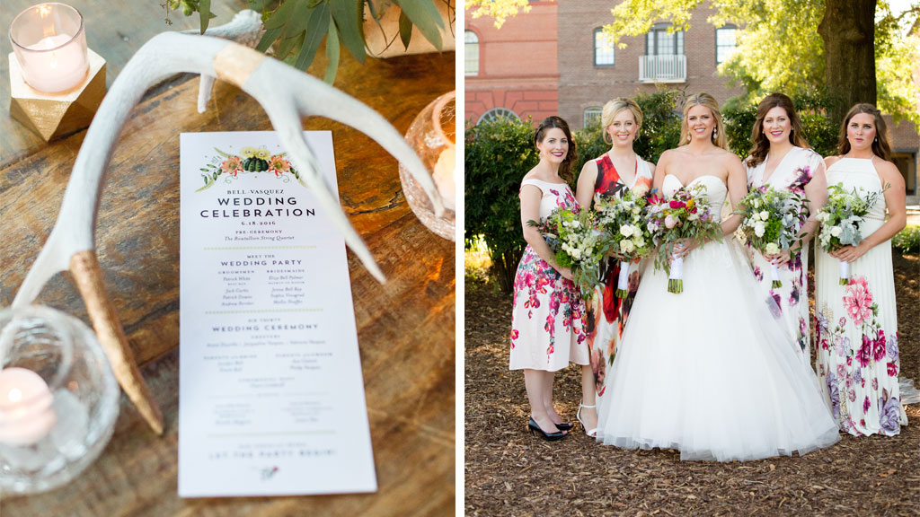 They Met on Tinder in Texas, Then Brought Austin's Boho Flair to Their Alexandria Restaurant Wedding