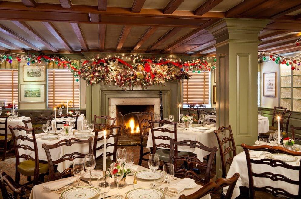 12 great restaurants for christmas eve dinner around dc for What restaurants are open on christmas eve