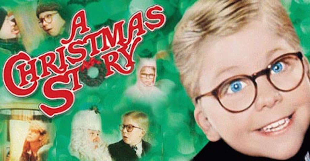 A Christmas Story poster via Blogspot.