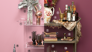 These Perfectly Styled Bar Carts Will Make Your Guests Jealous