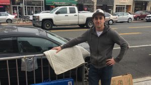 Meet the First Fan in Line to See Star Wars at the Uptown Thursday