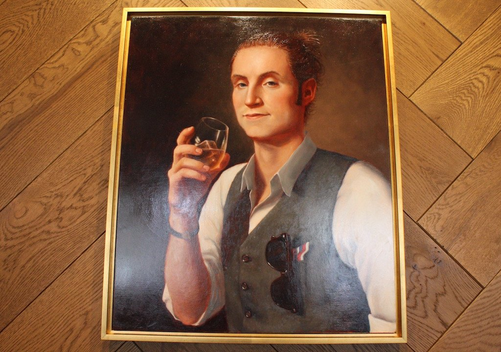 Dc Restaurant Commissions Portrait Of Hot George Washington