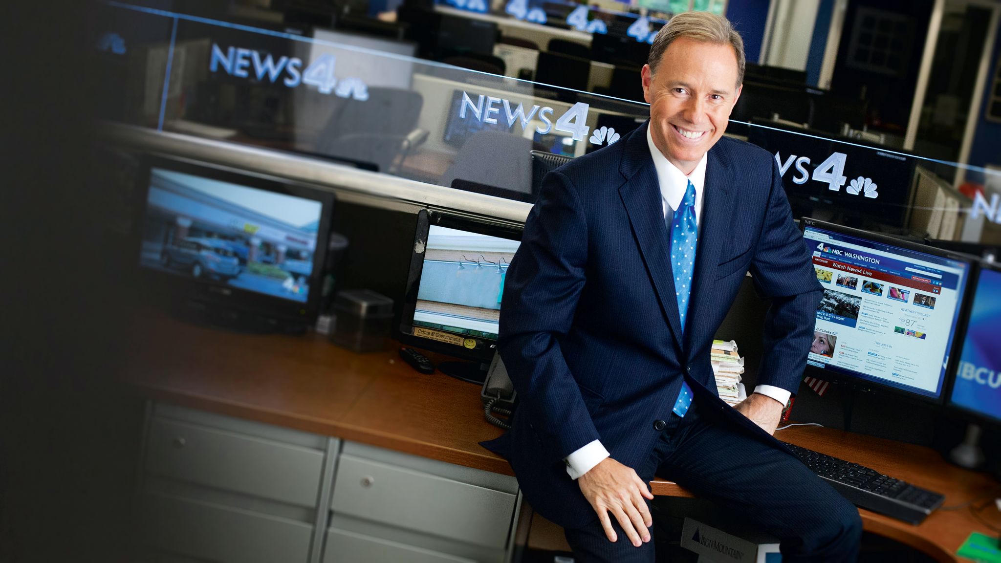 Jim Handly Is the News Anchor Washington Needs | Washingtonian (DC)