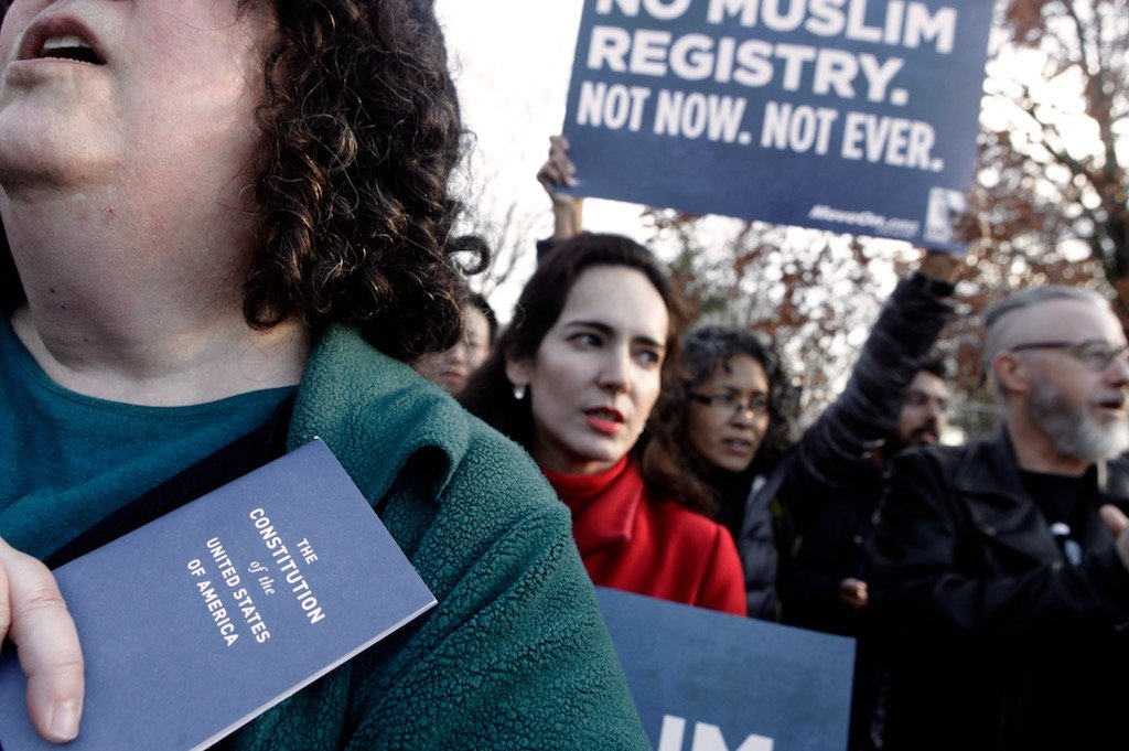 Protesters Ask Obama to End Program They Fear Could Lead to Muslim Registry