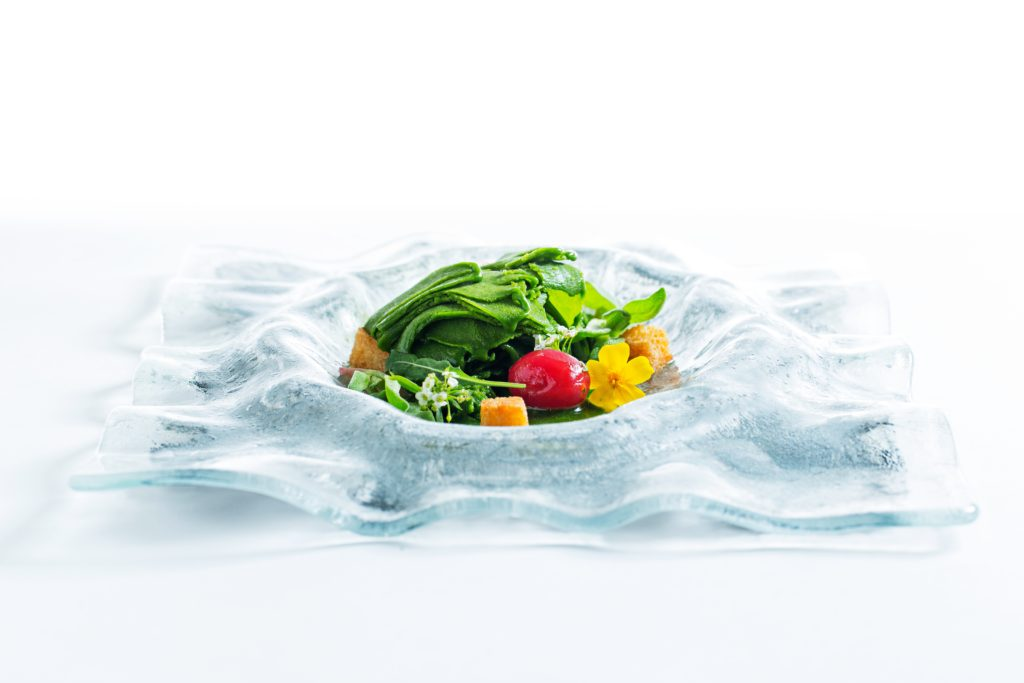 Lettuce-Ice Salad