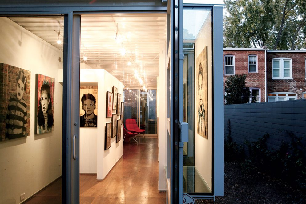 This Guy Built His Own Backyard Art Gallery Out Of A
