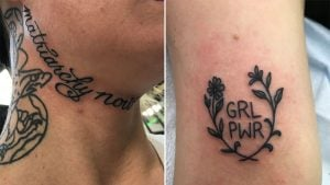 Look at the Badass Feminist Tattoos People Got for the Women's March on Washington