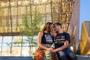 The African American History Museum Is Also a Great Place for Engagement Photos