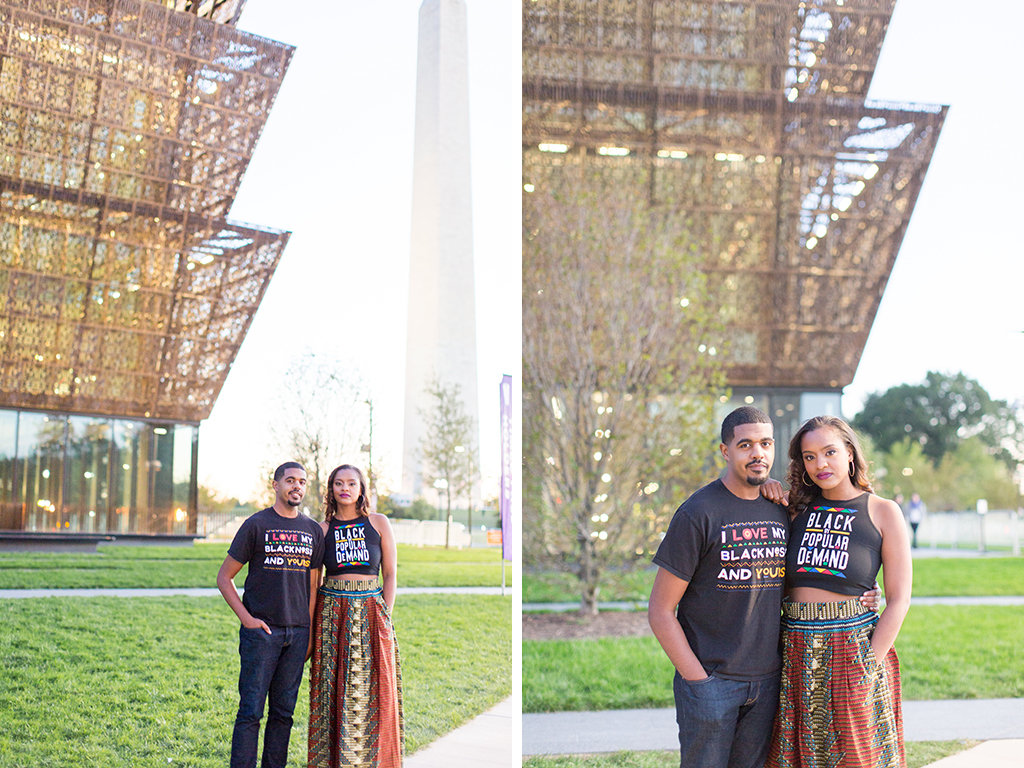 The african american history museum is also a great place for African photoshoot ideas