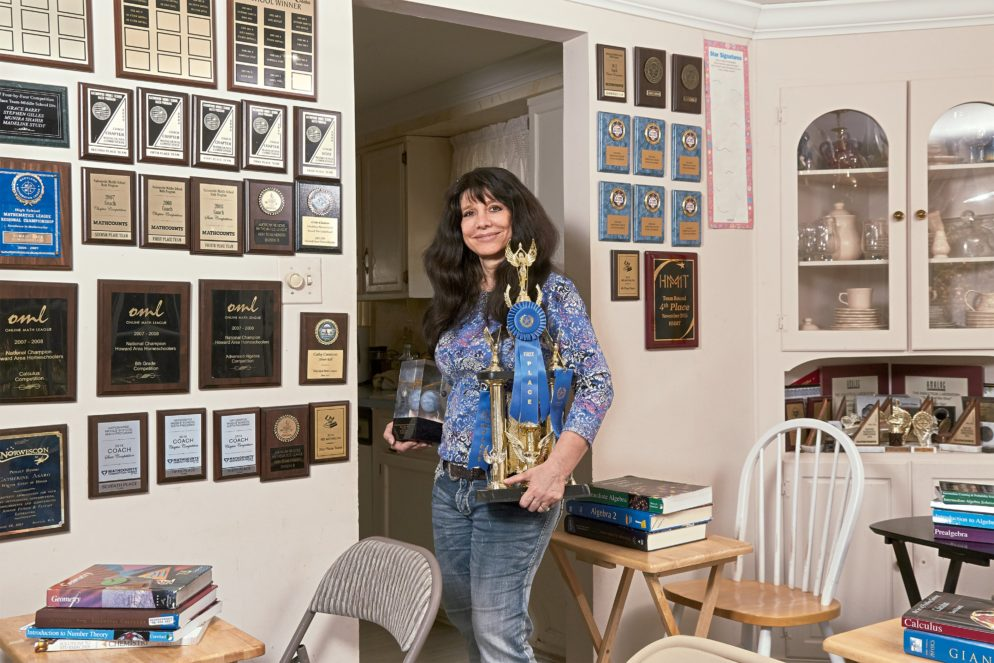 She's a Harvard PhD and Author of 26 Novels. She'll Also Get Your Kids to Like Math.