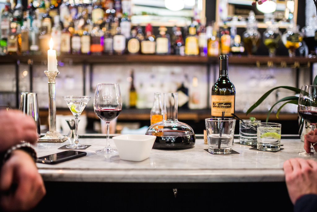 A bountiful beverage list includes sangrias, Spanish cocktails, and Old World wines.