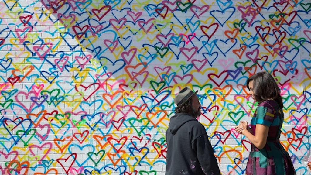 Image result for union market heart wall