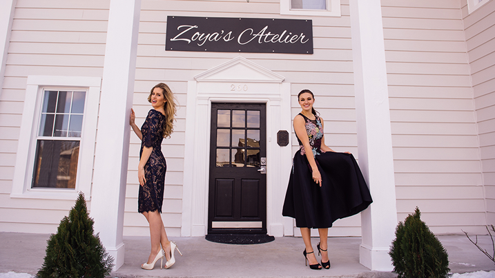 New York style meets London attitude at Zoya's Atelier