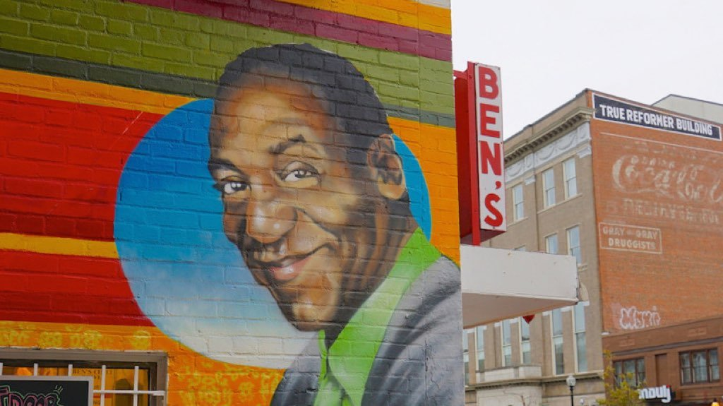 Ben 39 s chili bowl removes bill cosby mural washingtonian for Chuck brown mural