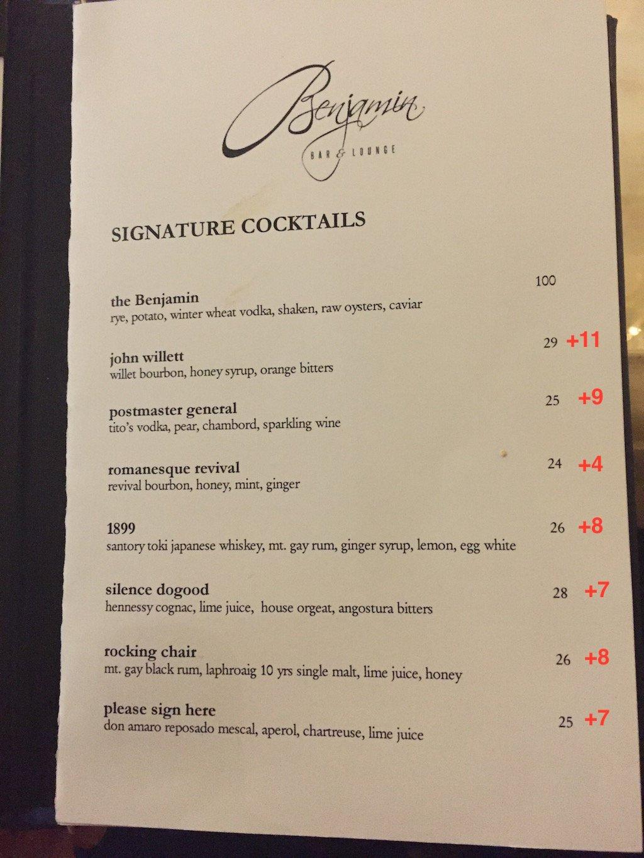The Dc Trump Hotel Raises Cocktail Prices Again