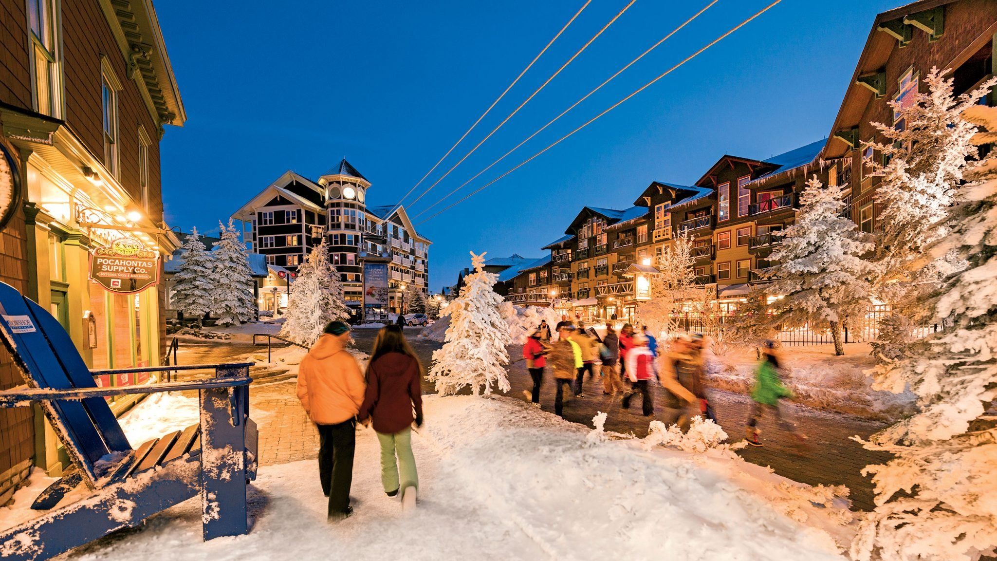 how to spend a weekend at snowshoe | washingtonian (dc)