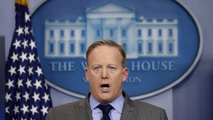 Some Disgusting Facts About Sean Spicer's Disgusting Gum Habit