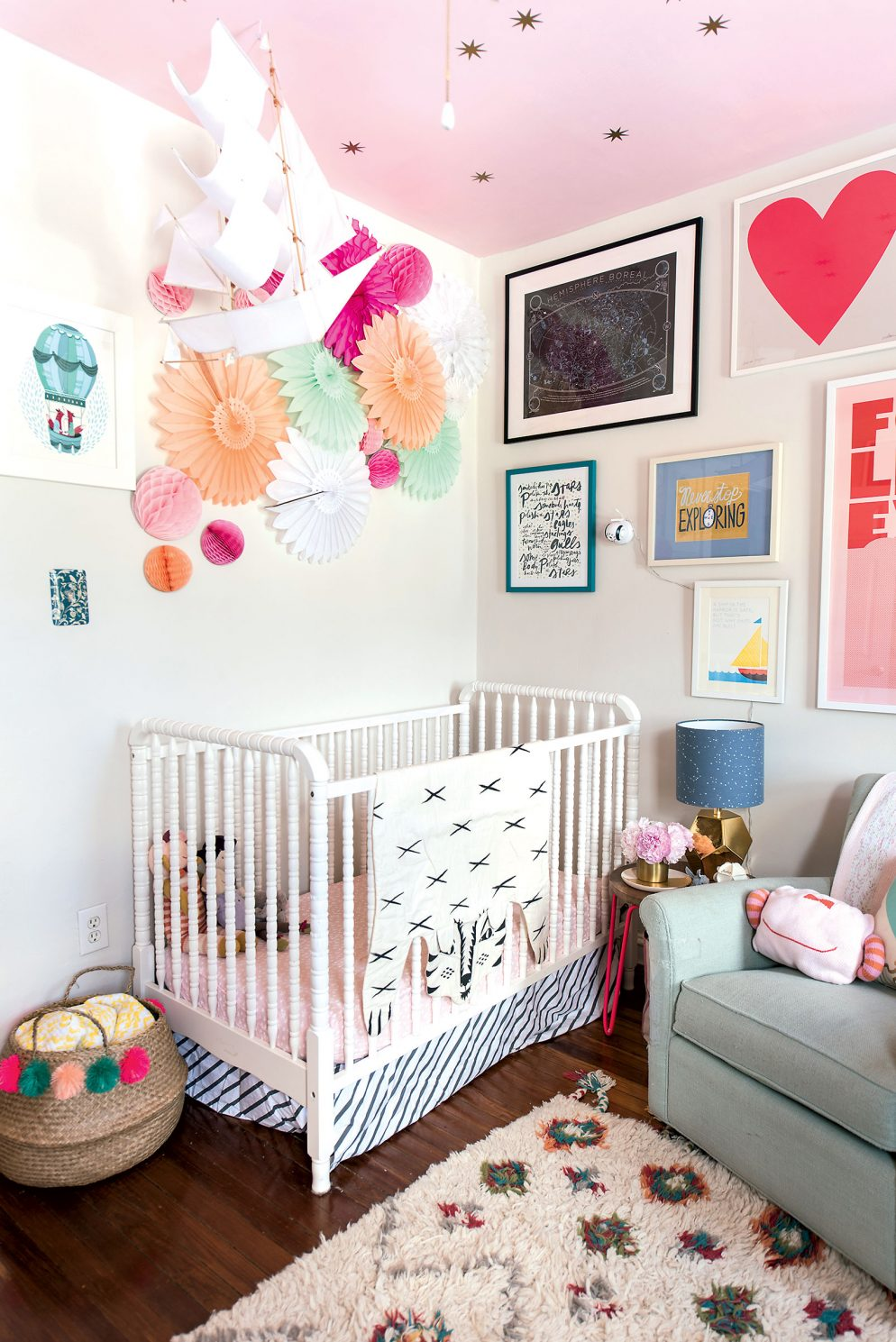 Your Splurge And Save Guide To Decorating Your Nursery