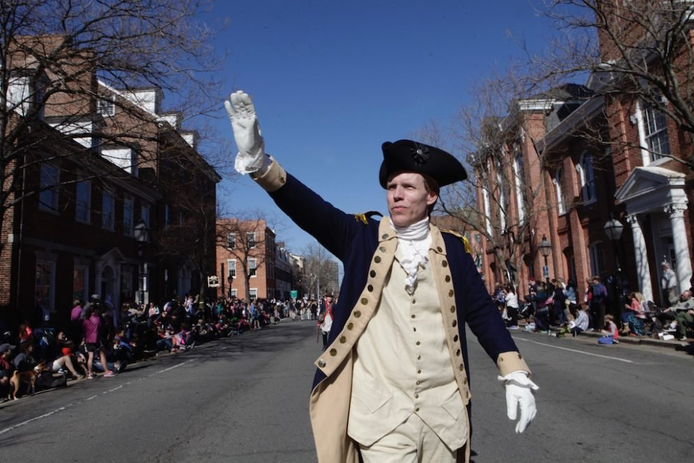 Photos: Alexandria Celebrates George Washington's Birthday