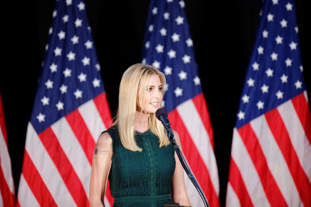With Ivanka Trump's New West Wing Job, We Now Have Government by Javanka