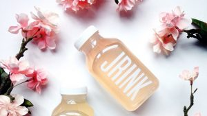 Jrink Just Released a Cherry Blossom-Themed Juice That's Supposed to Help Your Seasonal Allergies