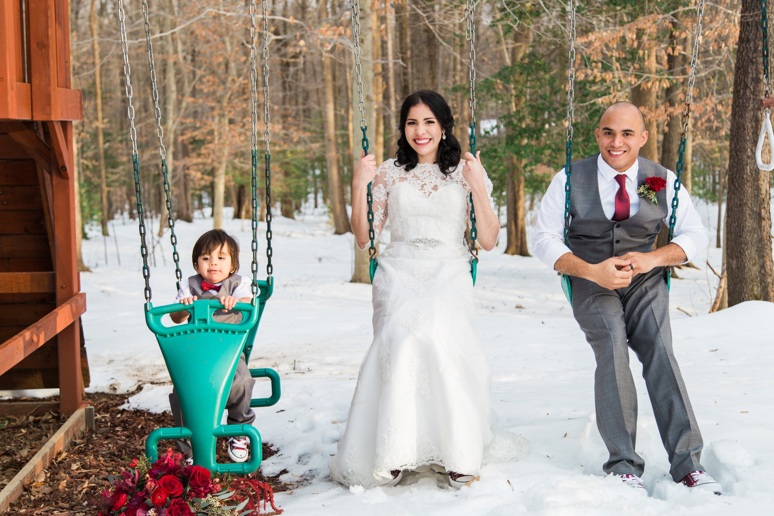 Carla Torres Carlos Rodriguez Alicia Wiley Photography Snow Day
