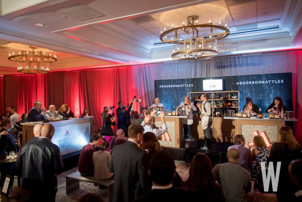 Marriott Georgetown Toasts Hotel's Redesign With (Boozy) Bourbon Battle