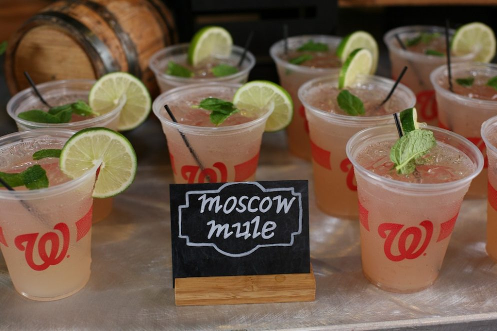New Food, Brews, and Booze at Nationals Park This Season