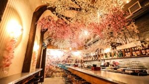 It's Almost Last Call for DC's Cherry Blossom Pop-Up Bar