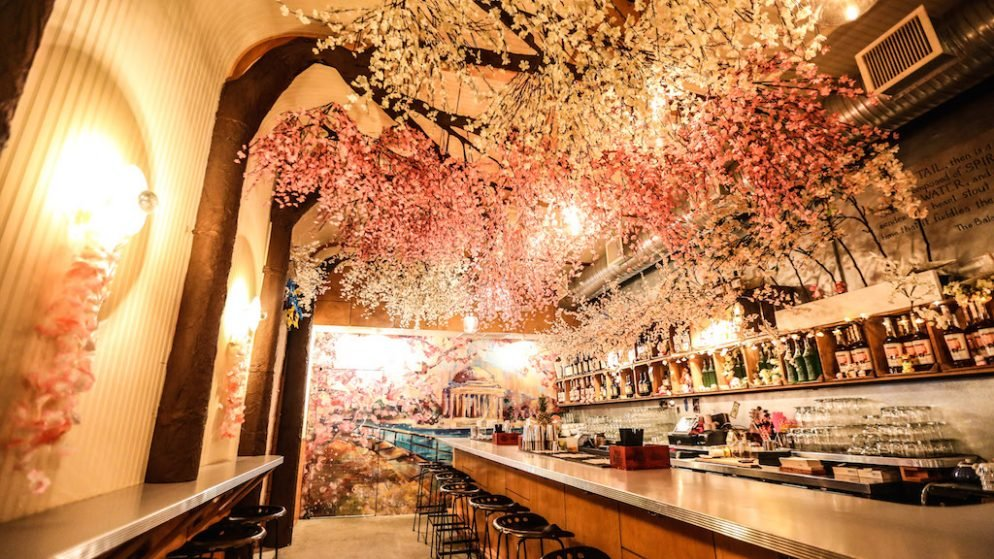DC's Pop-Up Cherry Blossom Bar is the Most Festive Place to Drink This Spring