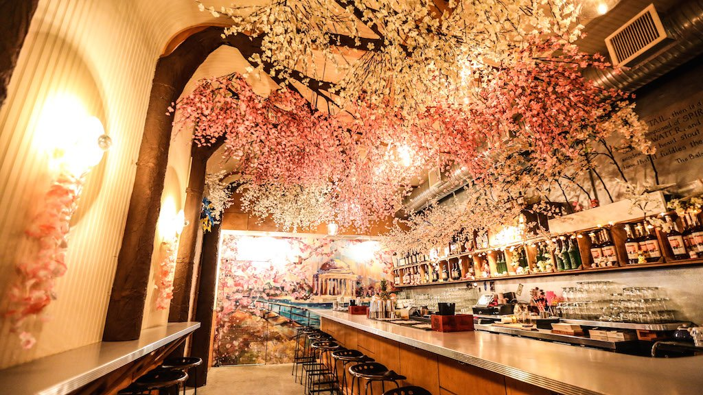 Dc Christmas Bar.Dc S Pop Up Cherry Blossom Bar Is The Most Festive Place To
