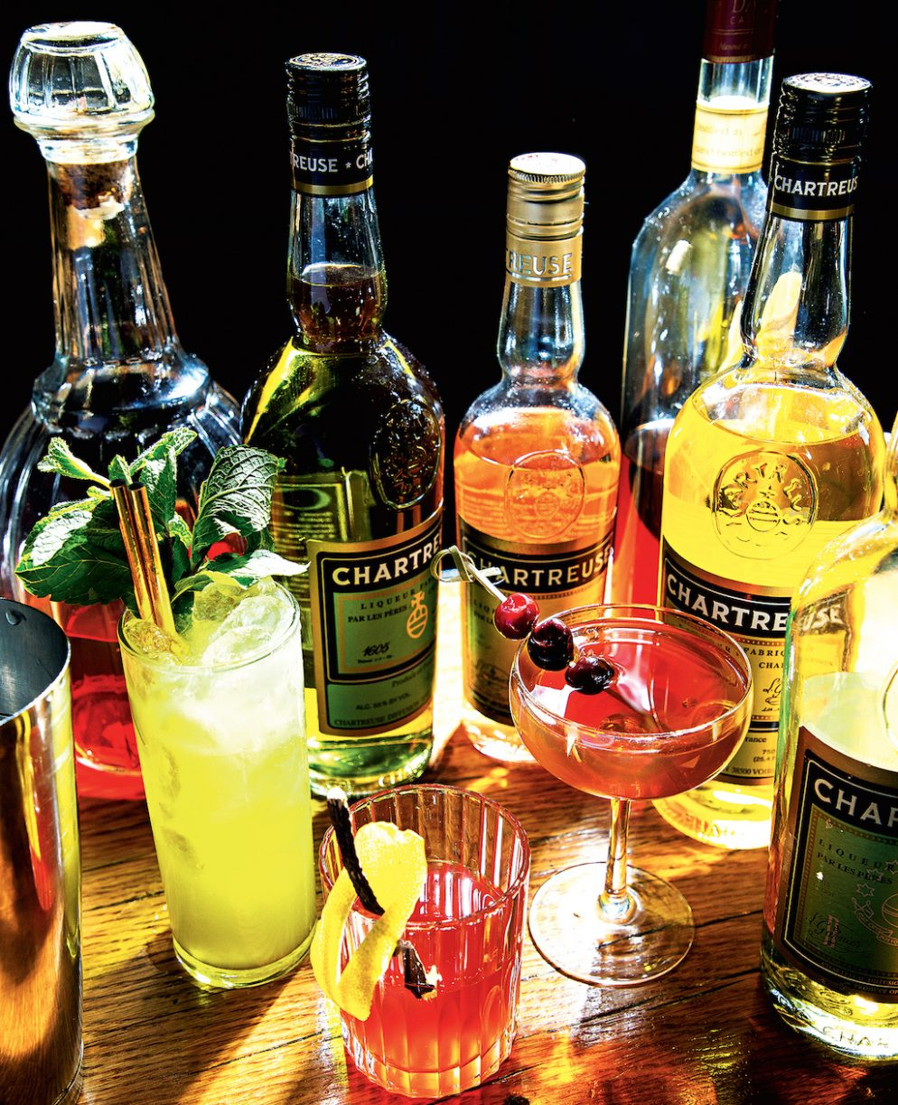 Everything You Need to Know About Chartreuse, the Hot Liqueur of the Moment