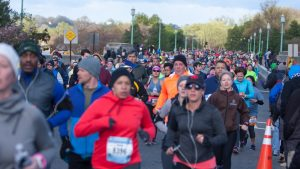 What a Marathon Runner Training for the Cherry Blossom Ten Miler Eats in a Day