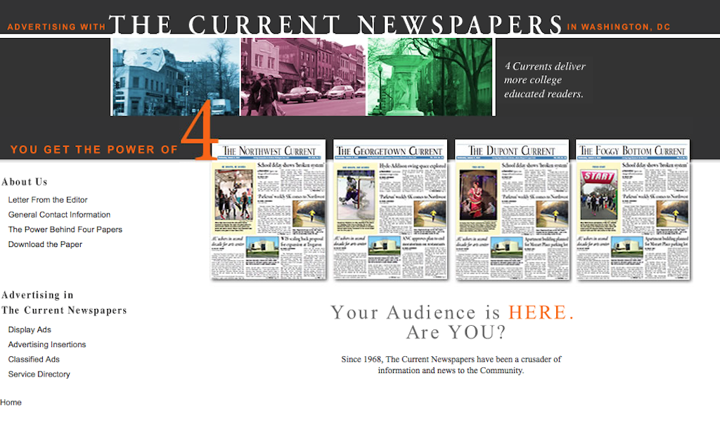 Current Newspapers' New Website Will Be an