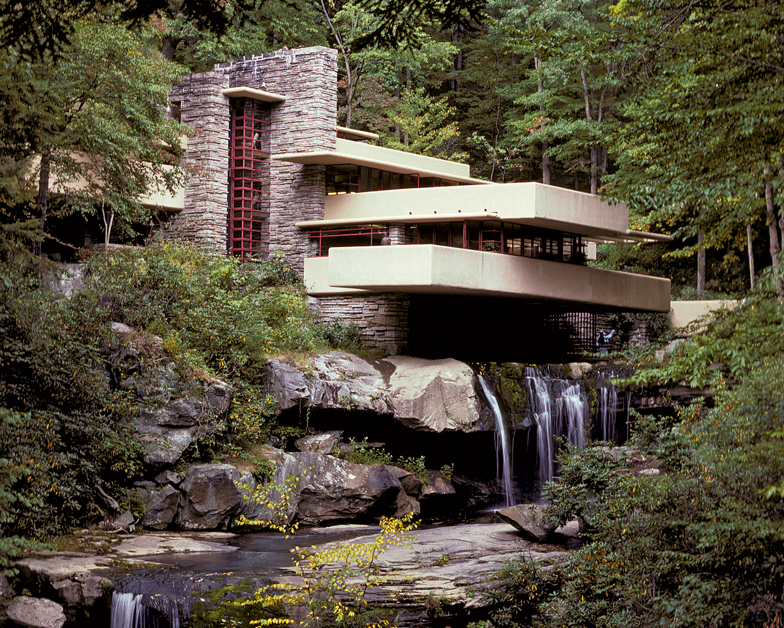 Frank Lloyd Wright S Fallingwater Is Just One Attraction In The Laurel Highlands Photograph By Mike Dobel Alamy