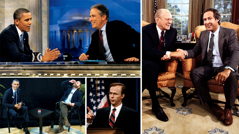 A Brief History of Comedians Roasting Presidents