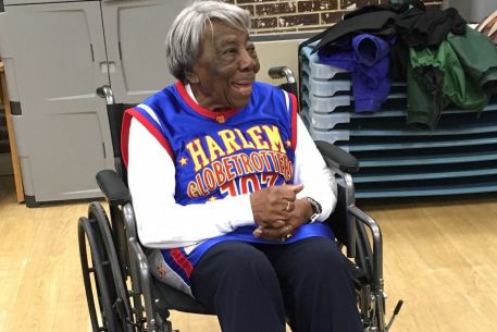 "DC's ""Dancing Centenarian"" Celebrated Her 108th Birthday With the Harlem Globetrotters"