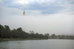 You've Never Seen the Washington Monument Look Like This