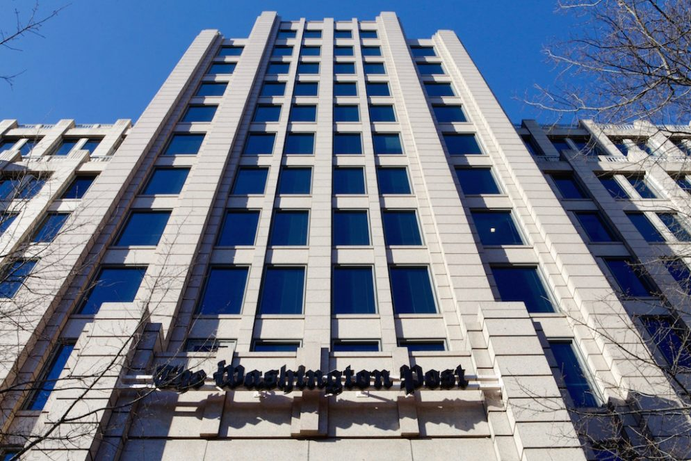 The Washington Post's New Social Media Policy Forbids Disparaging Advertisers