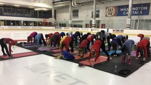 The Capitals are Hosting Free Yoga on Game Days to Help Fans De-Stress