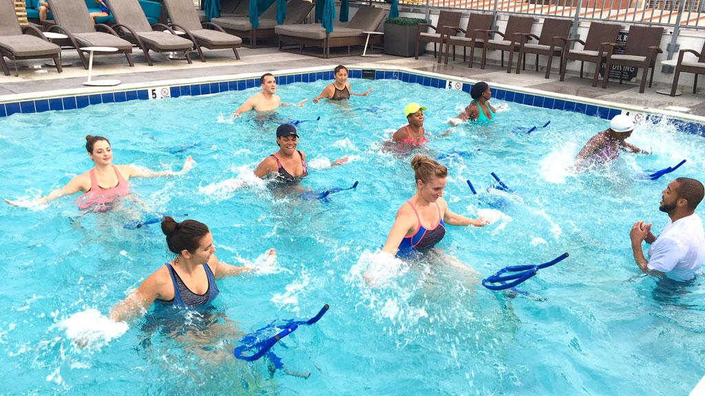 YAAASSS! You Can Now Try Underwater Cycling on Weekends With New Classes on the Schedule