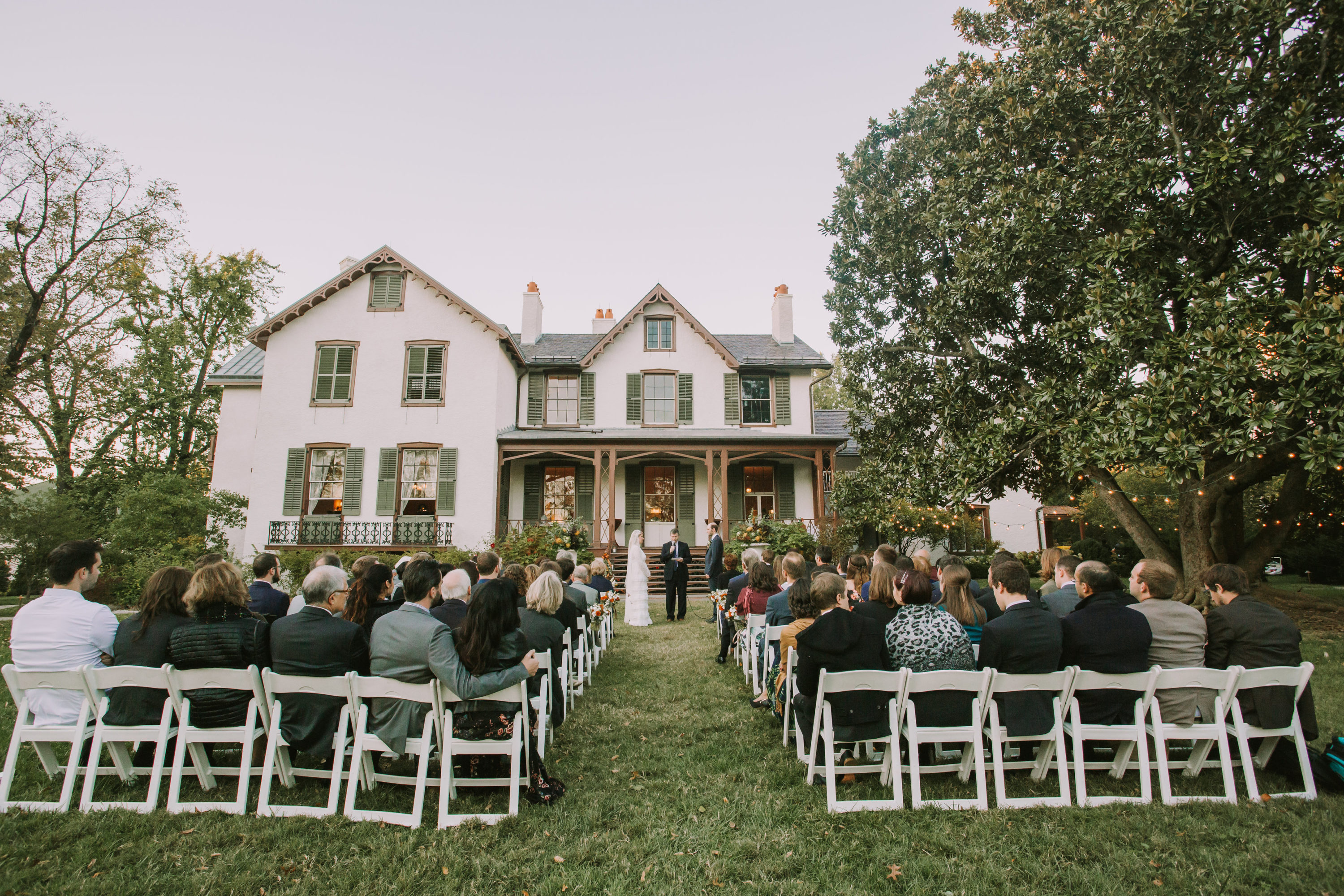 Emily Kaiser Matthieu Andre President Lincoln Cottage Beth Caldwell Photography Wedding