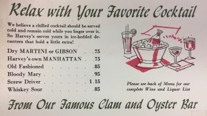 These Vintage DC Menus Will Make You Sad You Just Paid  for a Cocktail