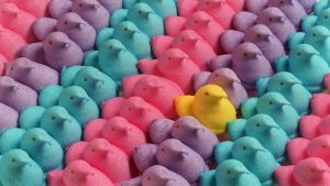 This Competitive Eater Can Down 200 Marshmallow Peeps in Five Minutes